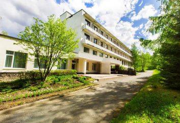 """Sanatorium """"White Springs"""" (Petrozavodsk, Carelia): attrezzature diagnostiche, sport e ai servizi sanitari, il tempo libero e il trattamento"""