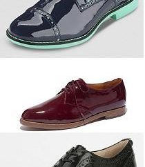 Shoes-Oxfords – une nouvelle tendance