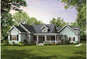 Tudo sobre a bela casa térrea: as nuances e peculiaridades de construção, todos os tipos de desenhos, materiais e design