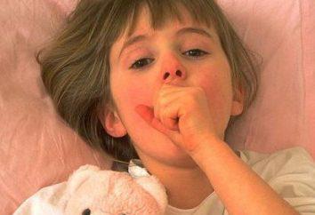 Se a criança tem uma tosse à noite, que os pais devem fazer?