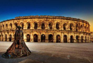 Starożytny Nimes (Francja): wzruszająca historia starożytna