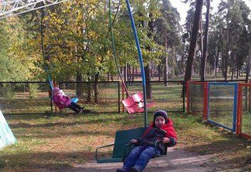 Rope Park, na cidade de Glória Partisan em Kiev