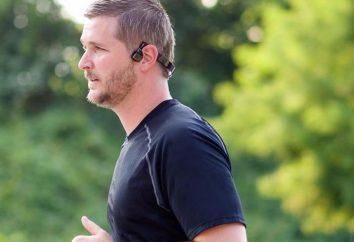 Estos auriculares transmitir el sonido directamente en el cráneo
