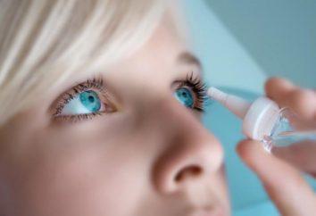 Gotas de la presión intraocular. Los nombres de los medicamentos, bajos, opiniones