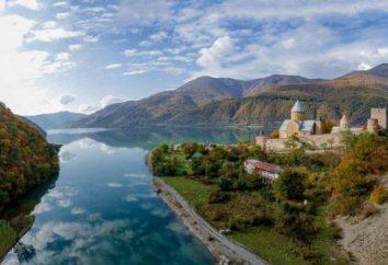 Georgia, Ananuri: Beschreibung, Geschichte und interessante Fakten