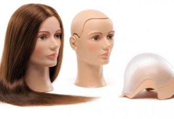 Quello che un manichino per i capelli meglio: naturale o artificiale?