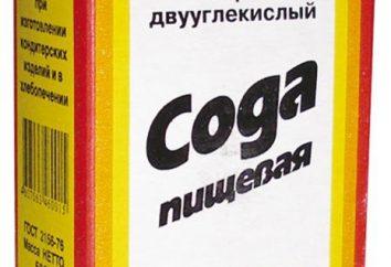 Bicarbonato di sodio alimentare: applicazioni in medicina. bicarbonato di sodio: benefici e danni, utilizzato nella medicina popolare