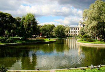 Berühmte Gärten und Parks SPb