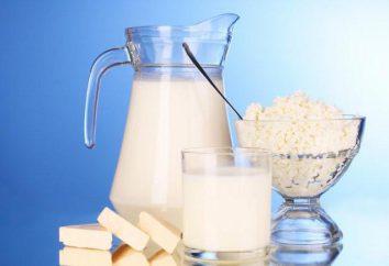 Nährwert von Milch und Milcherzeugnissen