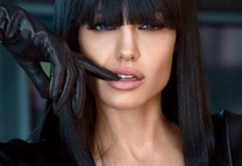 Coupe de cheveux et coiffure de Angelina Jolie