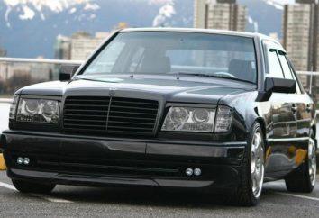 """Strojenie 124 """"Mercedes"""" i jego możliwości"""