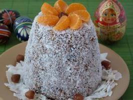 """Cuajada de Pascua en el horno: Receta. Pascua cuajada de cerveza """"real"""". Formar cuajada de Pascua"""