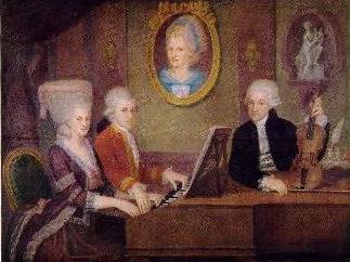 Mozart biografia. Krótko o główną