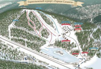 « Mountain Salang » – une station de ski en Russie