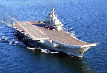 """Chiński lotniskowiec """"Liaoning"""": specyfikacje techniczne i zdjęcia"""