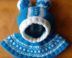 Comment tricoter un chapeau pour un rayon casque garçon? Il peut même maîtres débutants