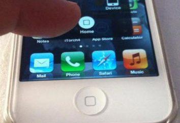 """Como remover o """"Home"""" com a tela do iPhone. Todo o botão Home"""