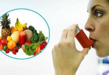 Lo que necesitan una dieta con asma?