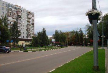 Stiamo andando a Reutov. attrazioni della città
