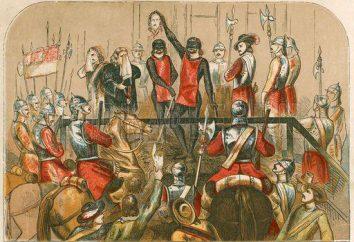 Esecuzione di Charles 1 (30 gennaio 1649) a Londra. La seconda guerra civile in Inghilterra
