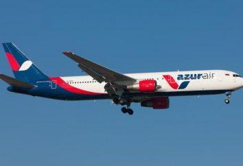 """Die Fluggesellschaft """"Air Azur"""": Beurteilungen,"""