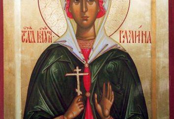 Nome del giorno Galina sul calendario della chiesa. Nome del giorno Galina