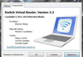Program Switch Virtual Router: przegląd, konfiguracja, referencje. Utwórz wirtualny punkt dostępu Wi-Fi