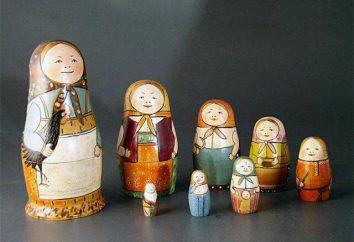 Zagadki o gniazdowania lalki dla dzieci