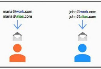 Servicios para el dominio, oficina de correos y su tamaño
