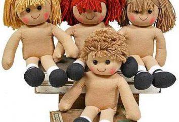 Como fazer o cabelo para uma boneca de mãos dadas: uma aula mestre. Como costurar o cabelo de uma boneca