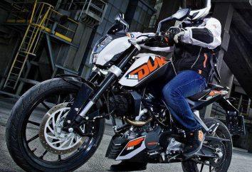 Motocykl KTM Duke-125: dane techniczne, opinie i zdjęcia