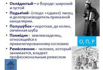 Archaizmy i historyzm. Przykłady i wartość