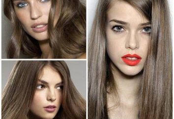 """Jasnobrązowy Kolor włosów: malować """"L'Oreal"""", """"Garnier"""", """"Estelle"""". Non odcienie, recenzje"""
