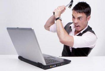 Dlaczego jest włączony i laptop wyłącza się natychmiast?