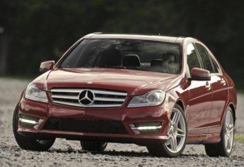 Vue d'ensemble de la voiture Mercedes-Benz Classe C