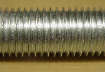 Rodzaje wątków stosowane w mechaniczny