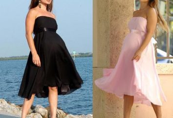 ¿Cómo elegir un vestido elegante para las mujeres embarazadas?