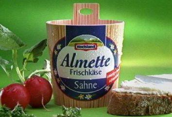 Des recettes simples: Almette (caillé de fromage)
