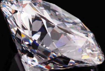 Karat Diamanten, die Geschichte der Erscheinung und Wert.