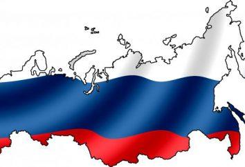 Cappotto delle braccia russo e bandiera. Che cosa significa la bandiera russa? Cappotto delle braccia russo – Foto