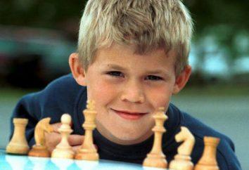 Scacchi genio Magnus Carlsen modernità