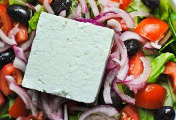 Para el queso ensalada griega, que es mejor elegir? recetas originales
