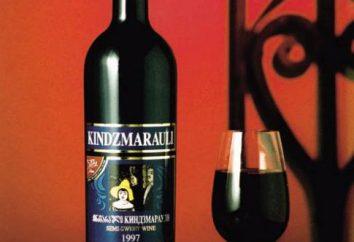Características do vinho de Kindzmarauli