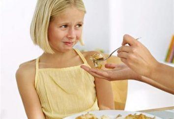 As crianças não comer – o que fazer? Alimentando uma criança. A criança não come