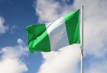 Flaga Nigerii: rodzaj, wartość, historia