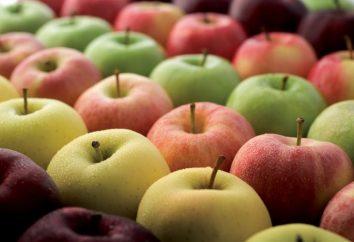 Una vasta gamma di varietà di mele