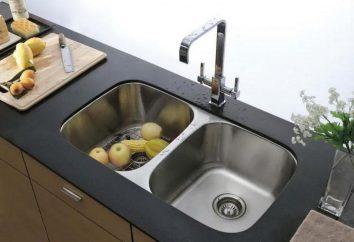 Küchenspüle: Formen, Fotos