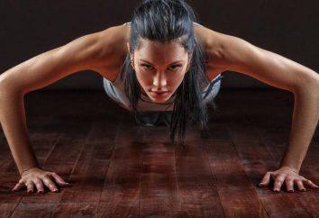 Effektive Übungen für Frauen zu Hause
