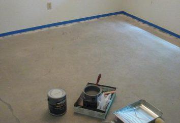Remplissez le sol dans l'appartement