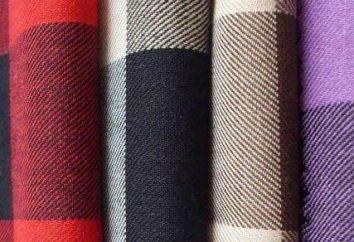 tejido de sarga de moda: los secretos de las características de fabricación y aplicación